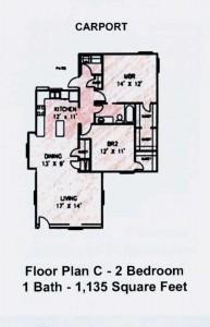 2BR-PlanC